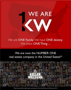 KW is the #1 Real Estate Company in North America